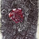 Dibujo, Pintura, Diseño, Bolígrafo, Bic Biro, Arte, Rosas