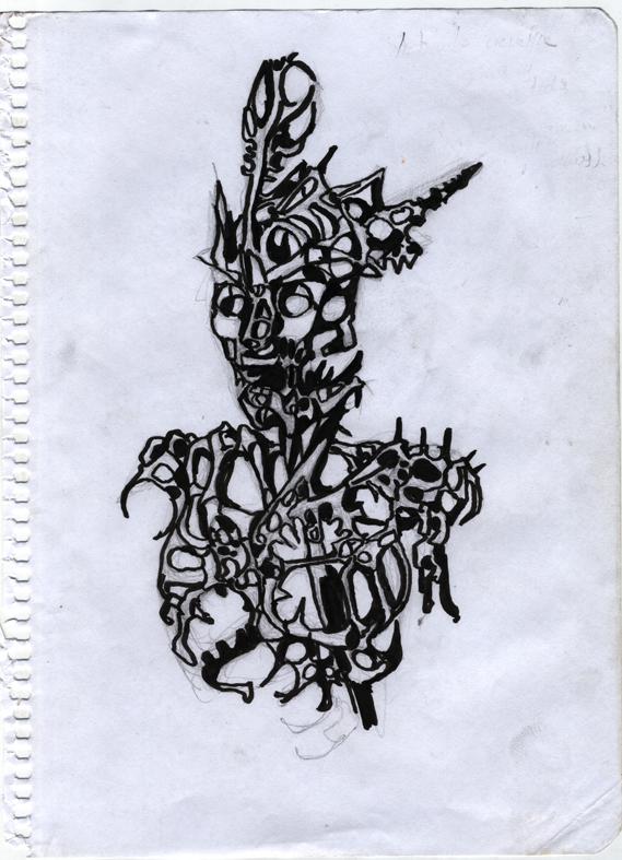 Tinta, Apuntes, Dibujo, Ilustración, Arte, Surrealismo, Ink, Notes, Drawing, Illustration, Art, Surrealism,