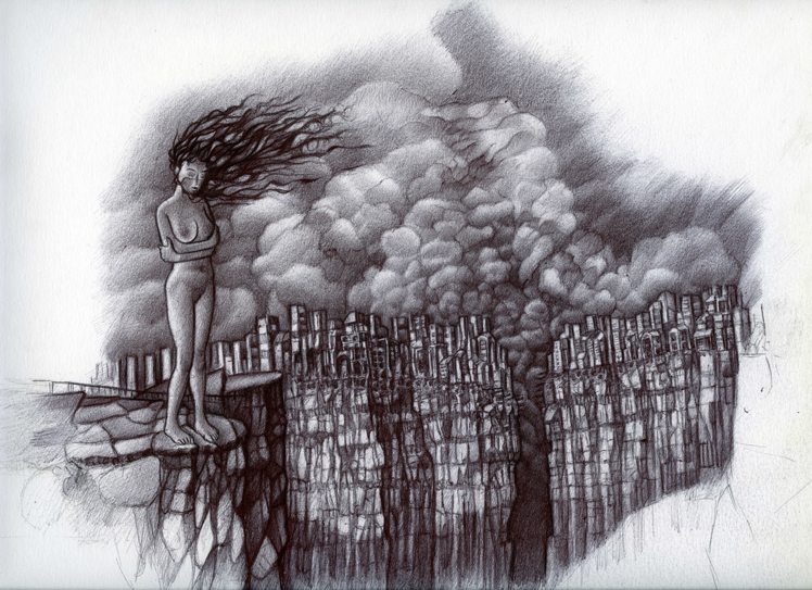 Dibujo, ilustración, bolígrafo Bic, Arte, Surrealismo, Drawing, illustration, Bic ballpoint, Art, Surrealism,